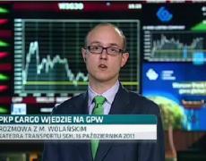 dr Michał Wolański nt. PKP Cargo w TVN CNBC